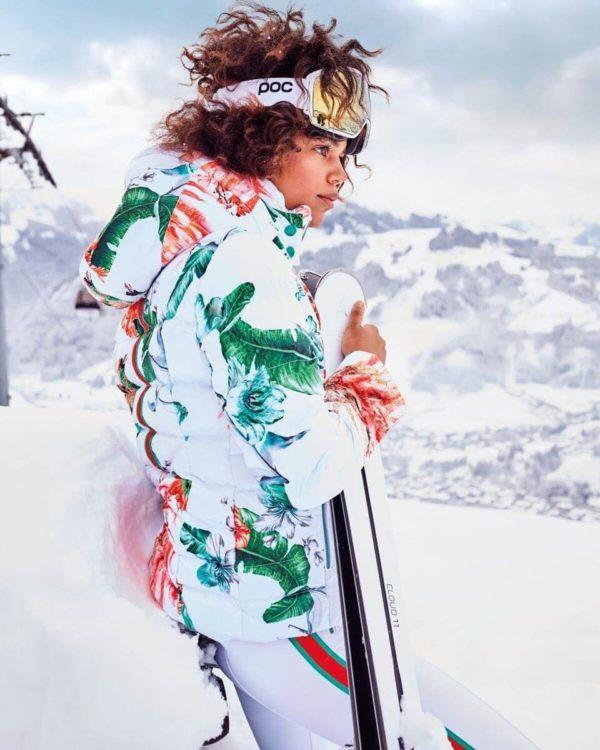 Женская куртка Exotic с мехом - фото 6