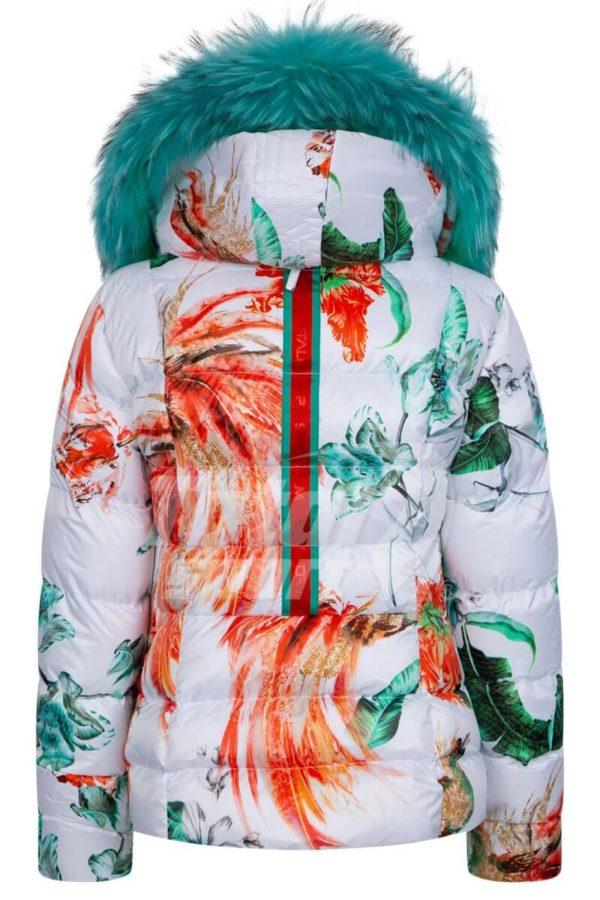 Женская куртка Exotic с мехом - фото 2
