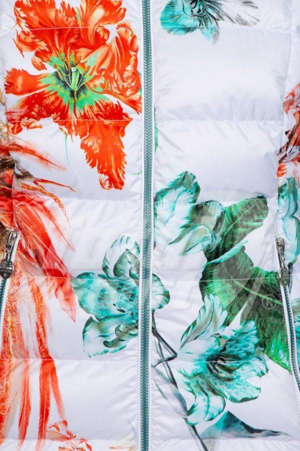 Женская куртка Exotic с мехом - фото 4