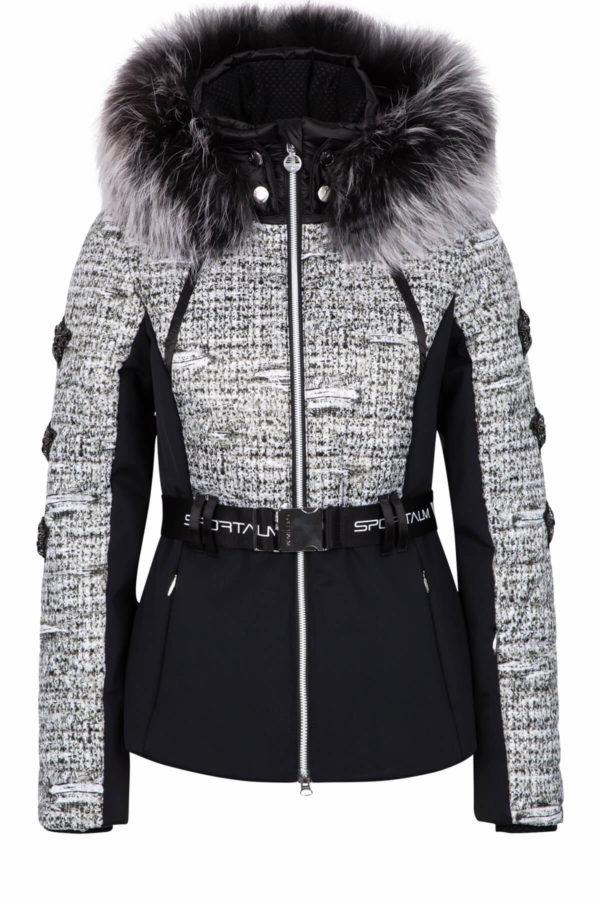 Женская куртка с мехом AURELIE 31097-20 - фото 1