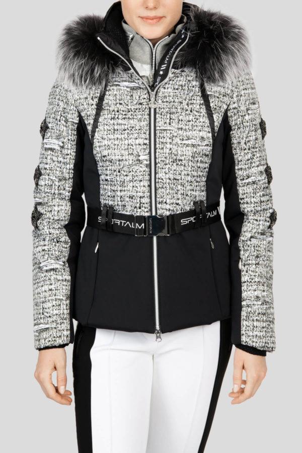 Женская куртка с мехом AURELIE 31097-20 - фото 2