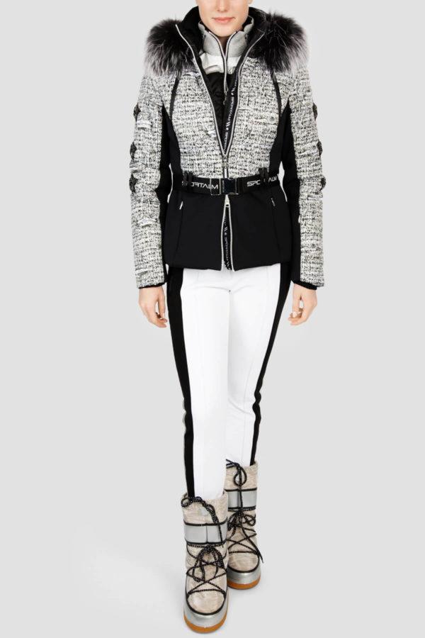 Женская куртка с мехом AURELIE 31097-20 - фото 6