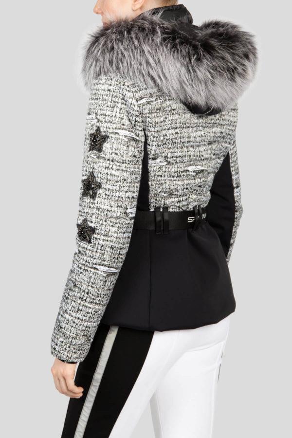 Женская куртка с мехом AURELIE 31097-20 - фото 5