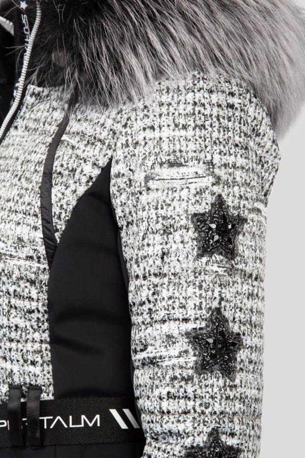 Женская куртка с мехом AURELIE 31097-20 - фото 4