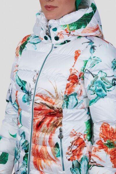 Женская куртка Exotic с мехом - фото 5