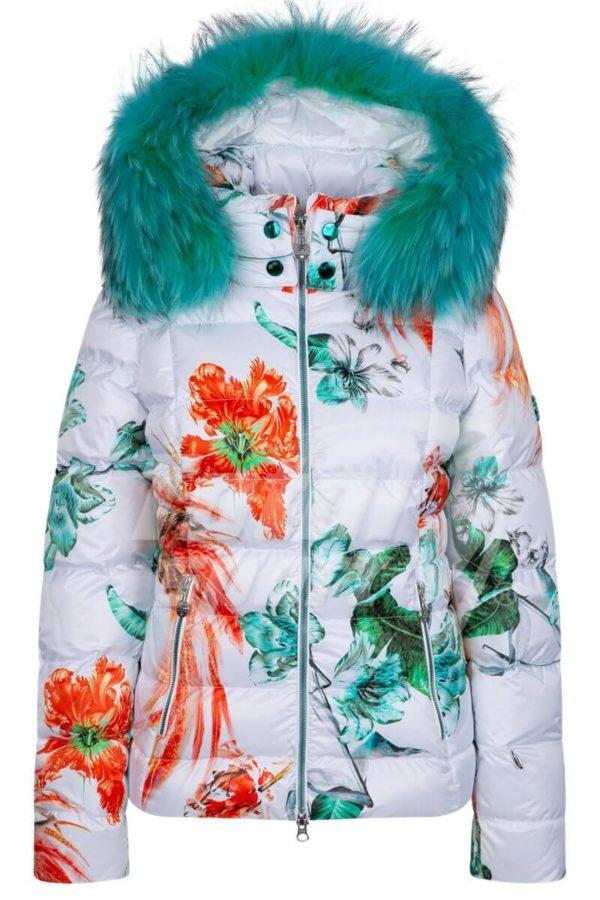 Женская куртка Exotic с мехом - фото 1