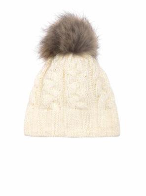 Женская шапка CABLE HAT - фото 4