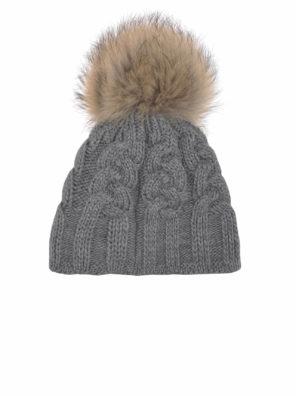 Женская шапка CABLE HAT - фото 8
