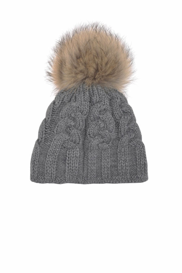 Женская шапка CABLE HAT - фото 2
