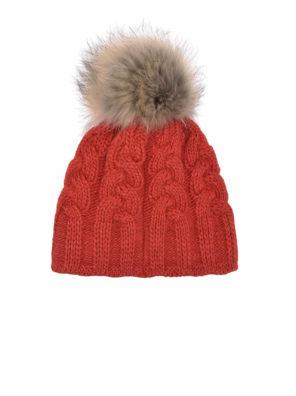 Женская шапка CABLE HAT - фото 6