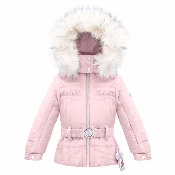 Куртка W17-1002-BBGL/A (с искусственным мехом) - фото 1