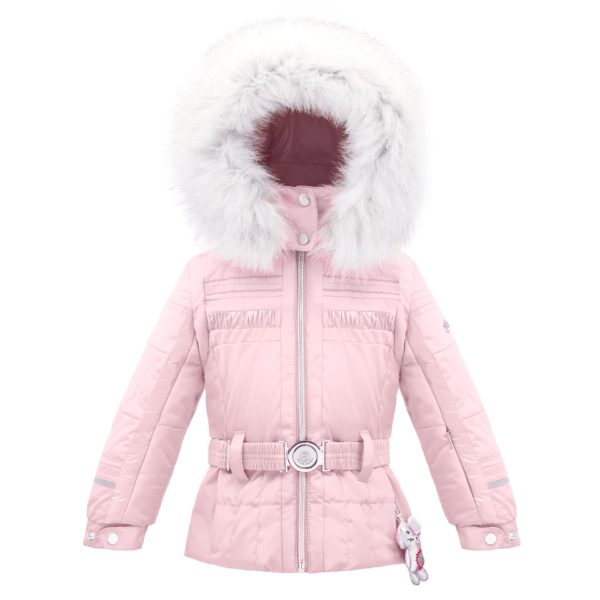 Куртка W17-1002-BBGL/B (с натуральным мехом) - фото 1