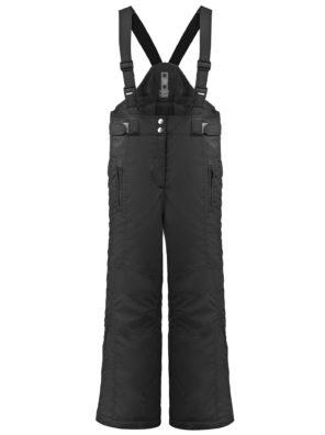 Брюки W19-1022-JRGL (для девочек)-черные - фото 8