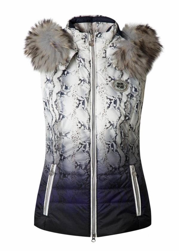 Женская жилетка с мехом BLOOM - фото 1