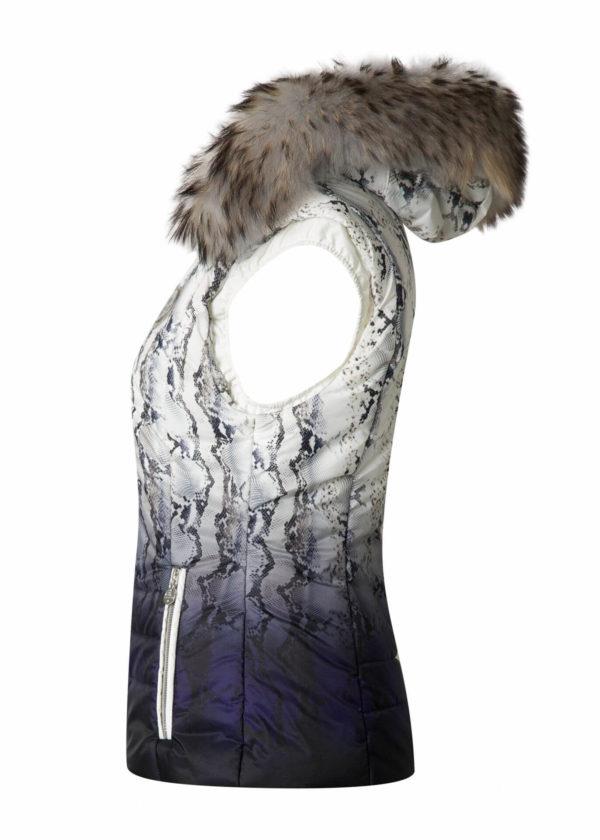 Женская жилетка с мехом BLOOM - фото 3