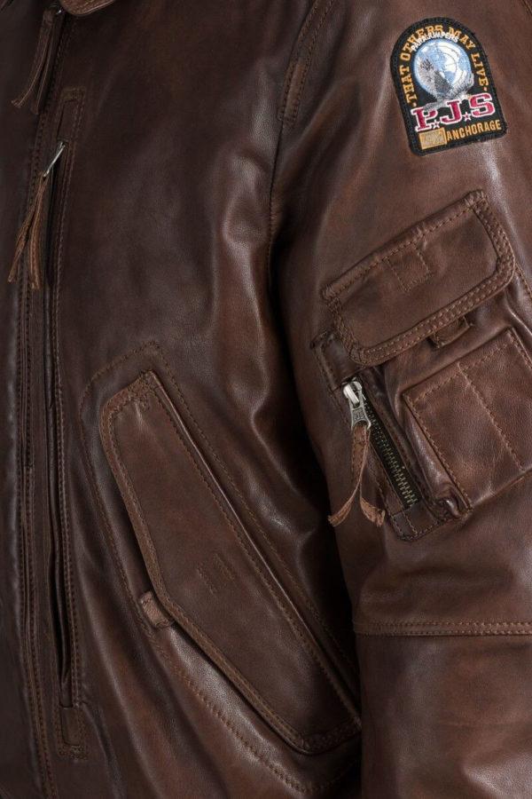 Мужская кожаная куртка JOSH LEATHER - фото 4