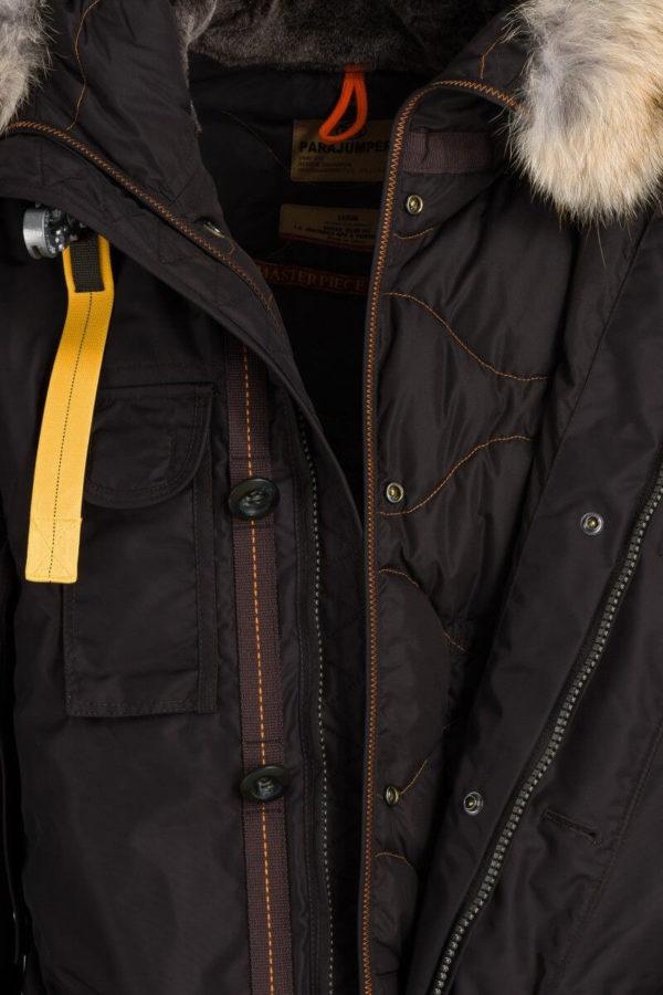 Мужской пуховик KODIAK-коричневый - фото 3