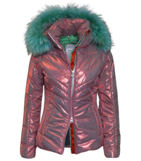 Женская куртка с мехом EDEN - фото 1