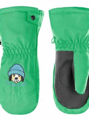 Варежки W17-0973-BBBY (для мальчиков) зеленый - фото 11