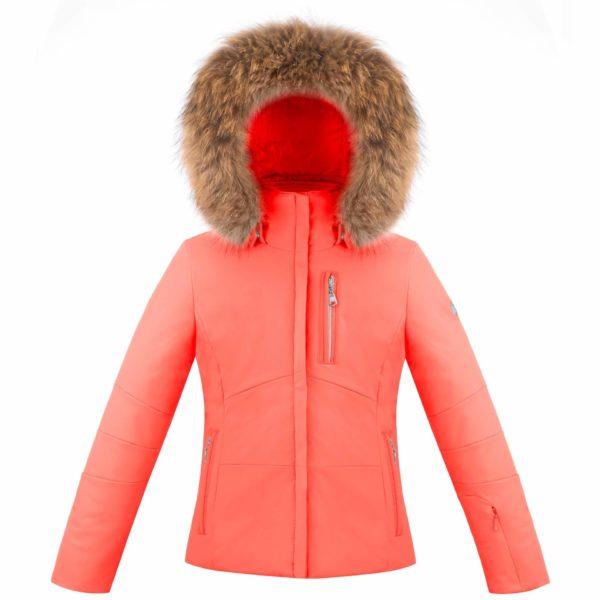 Куртка W18-0802 JRGL/В (с натуральным мехом) - фото 1