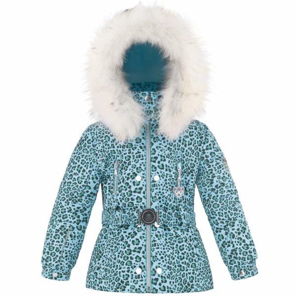 Куртка W18-1008 BBGL/A (с искусственным мехом) - фото 1