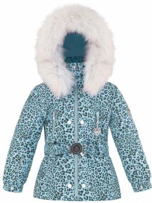 Куртка W18-1008 BBGL/B (с натуральным мехом) - фото 16