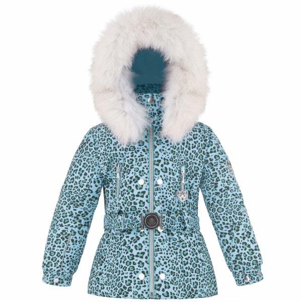 Куртка W18-1008 BBGL/B (с натуральным мехом) - фото 1