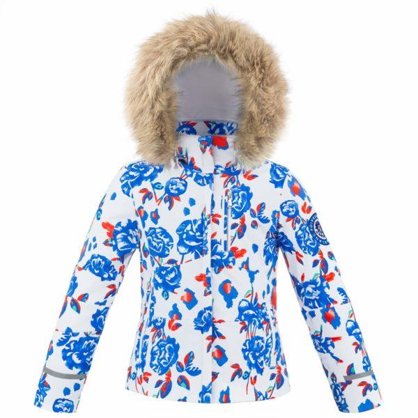 Куртка W19-0802-JRGL/A (с искусственным мехом) - фото 1