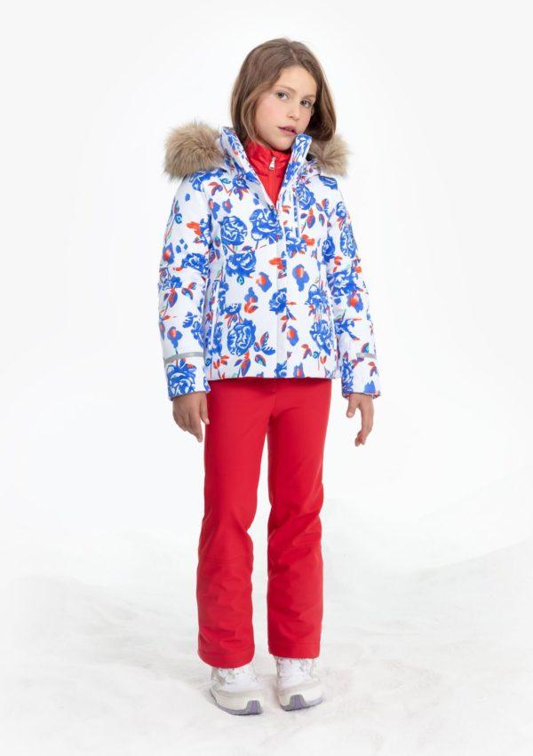 Куртка W19-0802-JRGL/A (с искусственным мехом) - фото 3