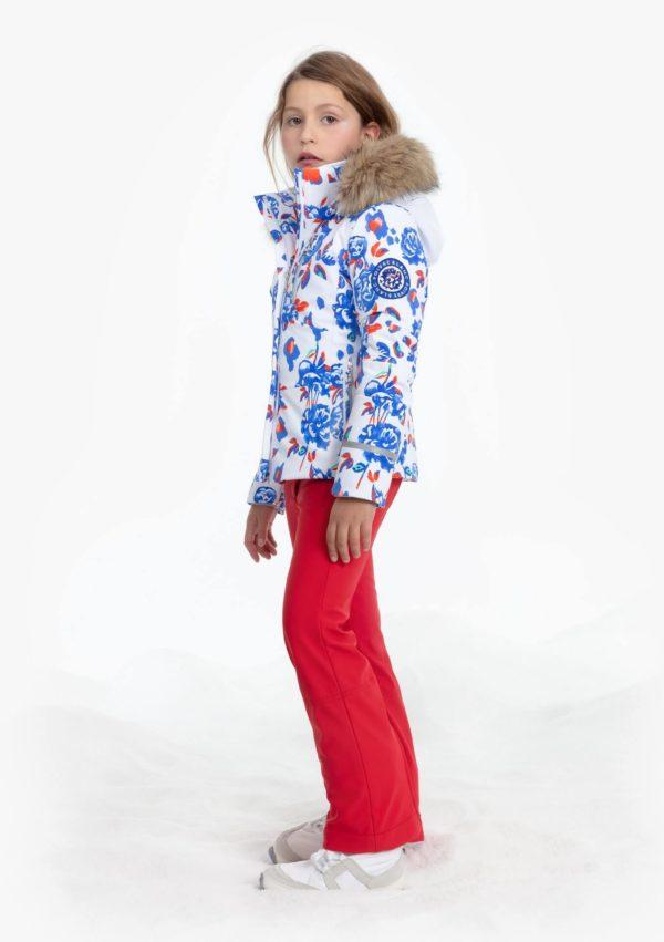 Куртка W19-0802-JRGL/A (с искусственным мехом) - фото 2