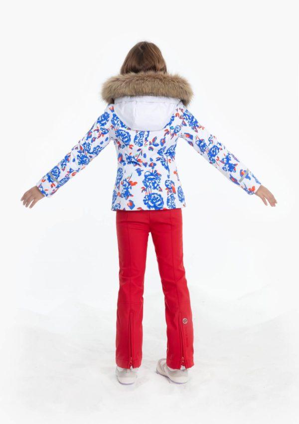Куртка W19-0802-JRGL/A (с искусственным мехом) - фото 4