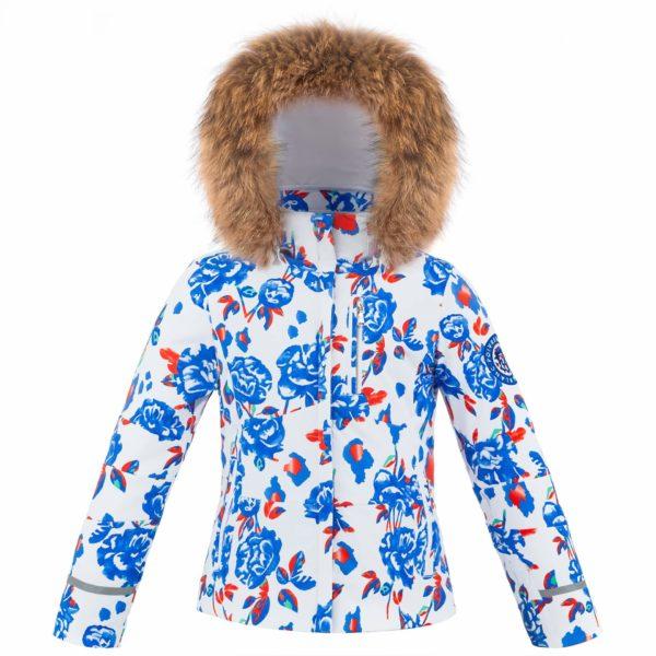 Куртка W19-0802-JRGL/B (с натуральным мехом) - фото 1