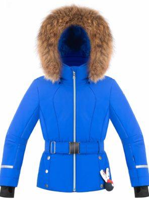 Куртка для девочки W19-1008-JRGL/В (с натуральным мехом) - фото 15