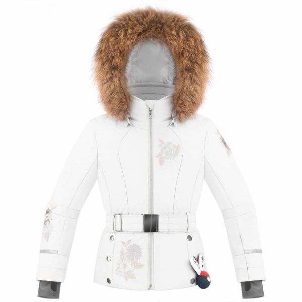 Куртка W19-1008-JRGL (с натуральным мехом) - фото 1