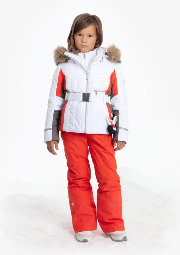 Куртка W19-1002-JRGL/A (для девочки) - фото 4