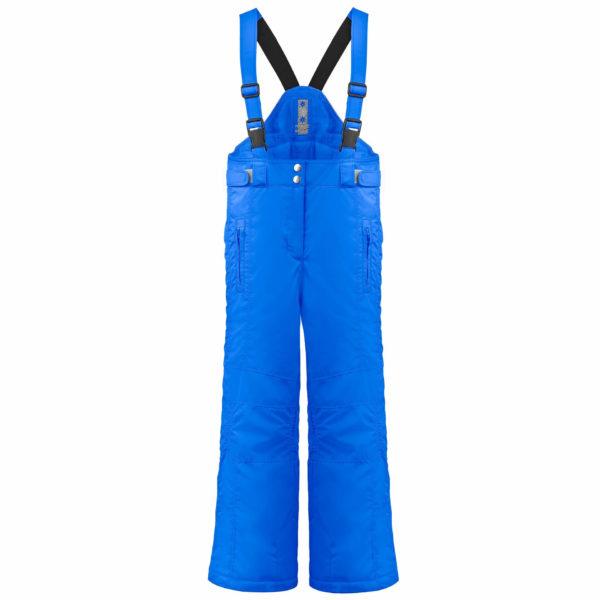 Брюки W19-1022-JRGL (для девочек)- синие - фото 1