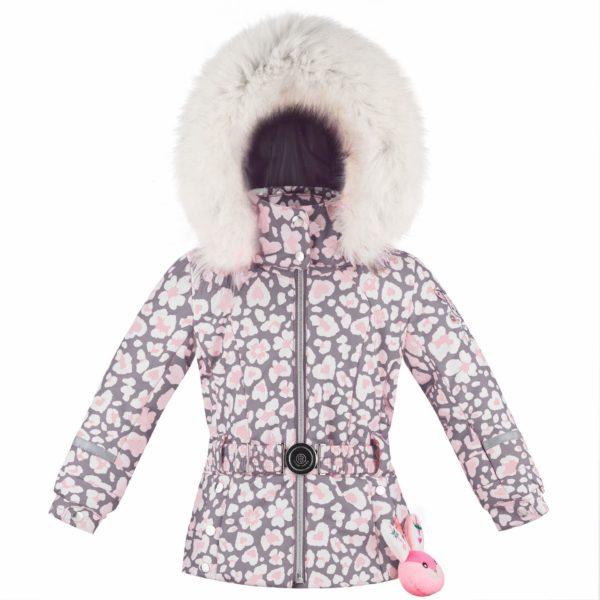 Куртка W19-1008-BBGL/B (для девочки) - фото 1