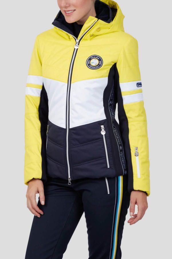 Женская куртка с мехом TOWEY 36147-62 - фото 3