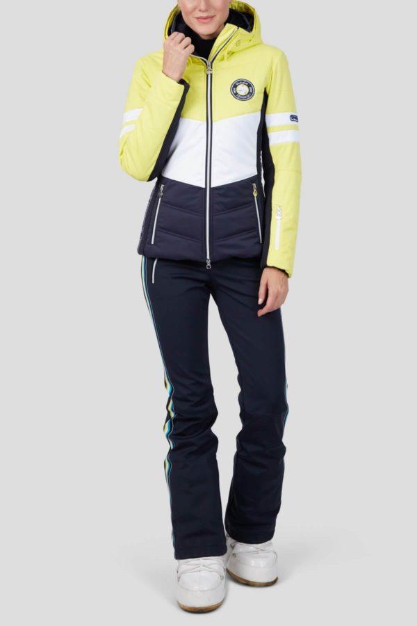 Женская куртка с мехом TOWEY 36147-62 - фото 4