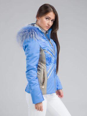 Женская куртка  с мехом EYKO - фото 20