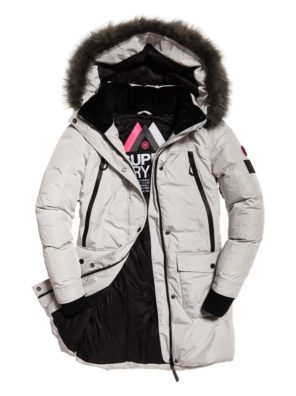 Женская парка  Superdry Antarctic Explorer Down - фото 1