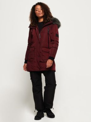 Женская парка  Superdry Antarctic Explorer Down - фото 4