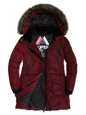 Женская парка  Superdry Antarctic Explorer Down - фото 3
