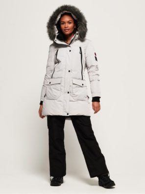 Женская парка  Superdry Antarctic Explorer Down - фото 2
