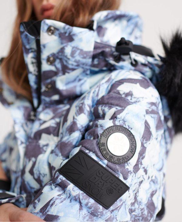 Женская куртка Superdry Luxe Snow Puffer - фото 6