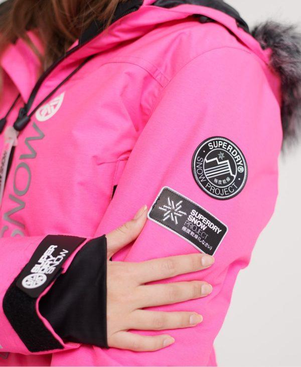 Женская Куртка Superdry SD Ski Run Jacket - фото 4