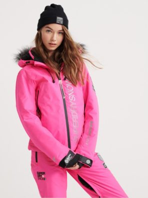 Женская Куртка Superdry SD Ski Run Jacket - фото 21