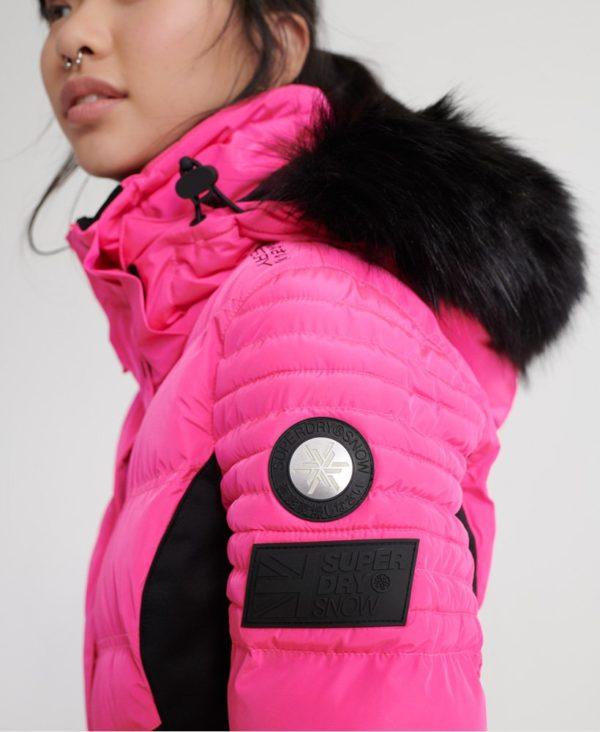 Женская куртка Superdry Luxe Snow Puffer - фото 3