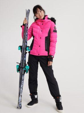 Женская куртка Superdry Luxe Snow Puffer - фото 19