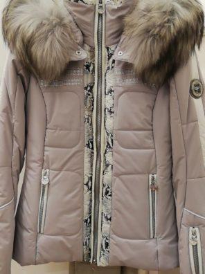 Женская куртка с мехом KIRANA 87190-75 - фото 7